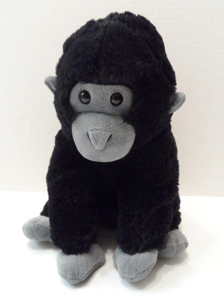9 75 Gorilla Plush Stuffedanimal Kohls Cares Black Monkey