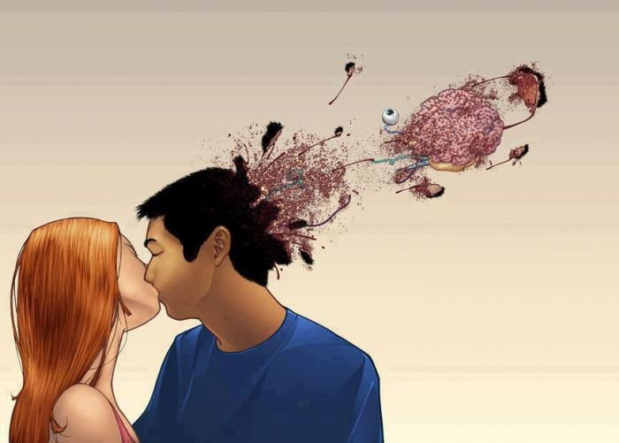 This Was My Mind In The First Kiss After Being In The Friend Zone