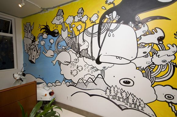 invoke580px3 01 Wall mural by Company Policy + Chairman Ting for - company policy