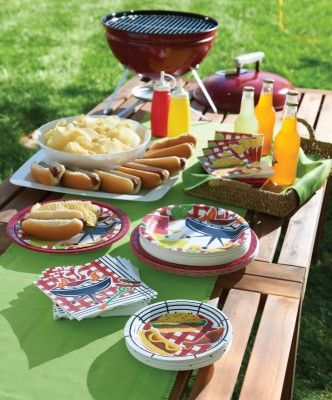 ausgefallene barbeque und grill party deko darf auf keiner sommer party fehlen diy ard buffet. Black Bedroom Furniture Sets. Home Design Ideas