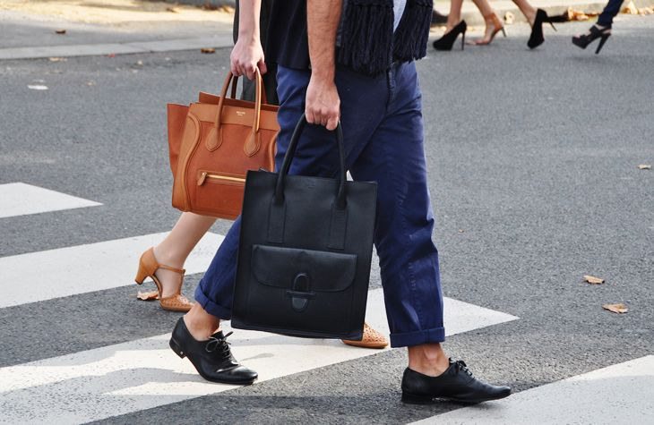 his and hers Celine bags. obsessed.