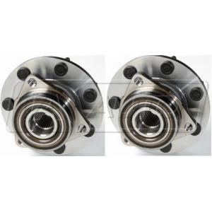 Ford Front Driver Passenger Side 2 Piece Wheel Bearing Hub Assembly Set Trq F150 Truck Ford Ford F150 Pickup