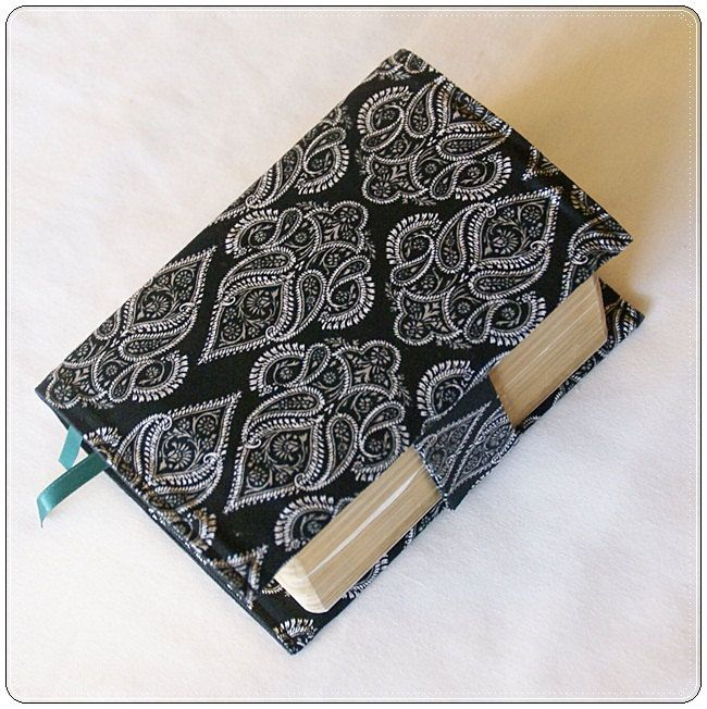 COMPACT Size LDS Quad Cover Black and White DAMASK. $16.00, via Etsy.