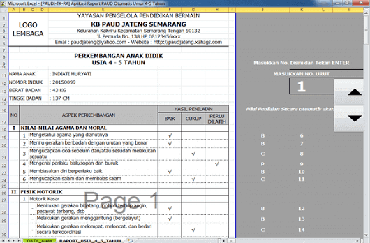 Sign In Kurikulum Microsoft Excel Pendidikan