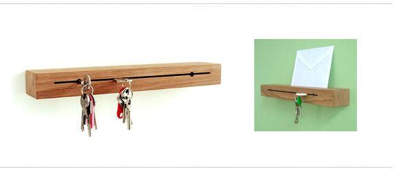 SLIT KEY HOLDER | keys | Pinterest | Key holders, Keys and Key rings