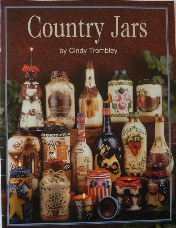 Country Jars By Cindy Trombley Tole Painting Book For Beginners