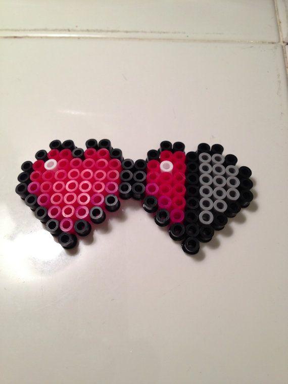 Minecraft Heart Life Perler Bead By Nerdchristmas On Etsy 3 00