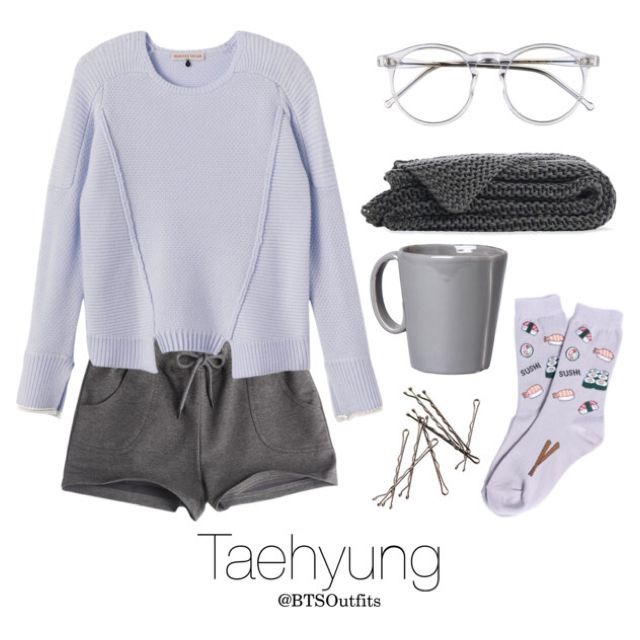 Rainy Day In with Taehyung by btsoutfits