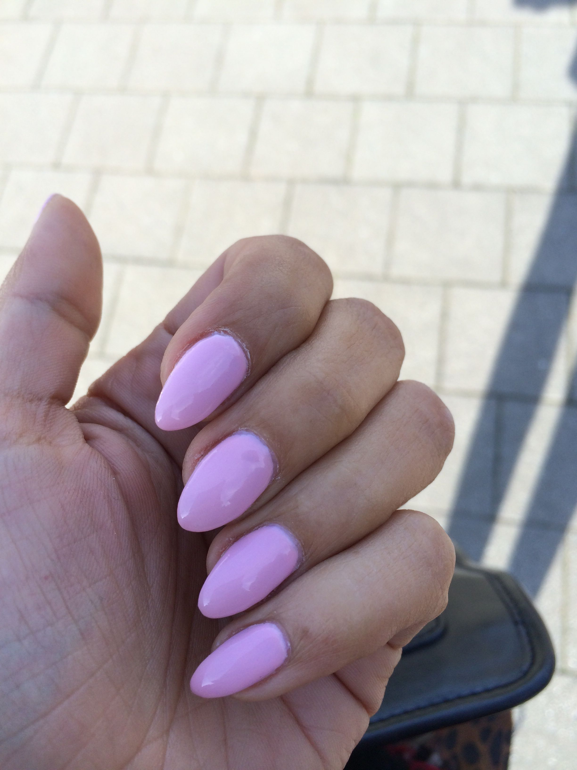 Pointy Nails: Baby Pink