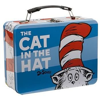 Dr. Seuss Cat in the Hat Large Tin Tote #Glimpse_by_TheFind