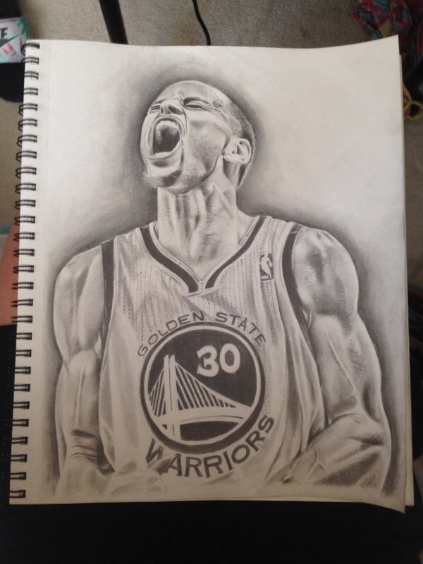 Stephen Curry Drawing  d89c3bb1c