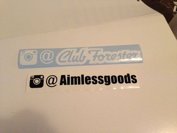 Custom instagram name tags on etsy 3 00
