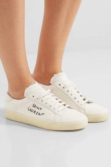 Cour Saint Laurent Chaussures De Sport Classique - Blanc hghGJgHQV