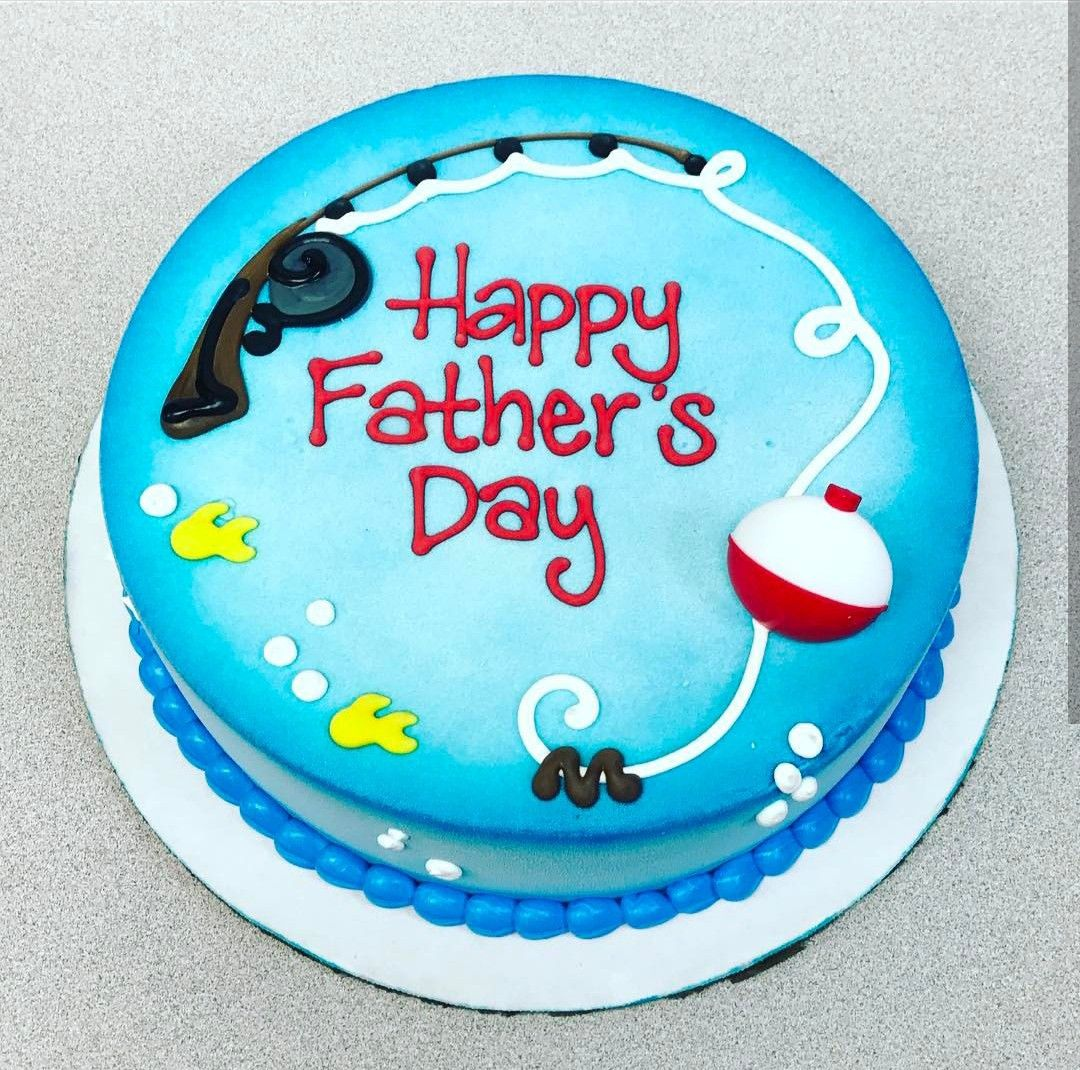 Fathers Day Cake With Images Fish Cake Birthday Dad Cake