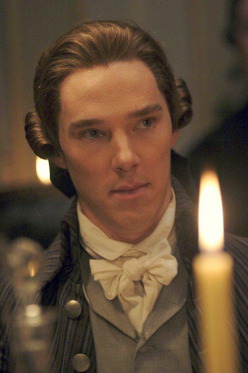 """Benedict Cumberbatch as William Pitt in """"Amazing Grace""""."""