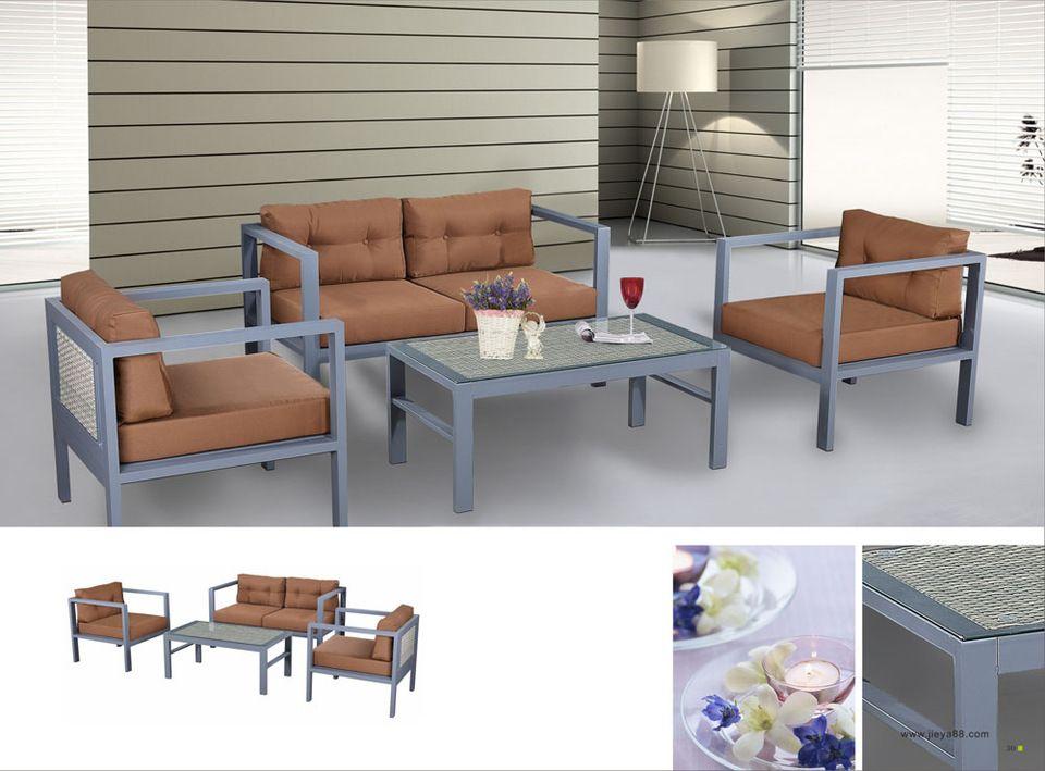Phenomenal Hot Sale Aluminum Patio Sofa In And Outdoor Furniture Used Inzonedesignstudio Interior Chair Design Inzonedesignstudiocom