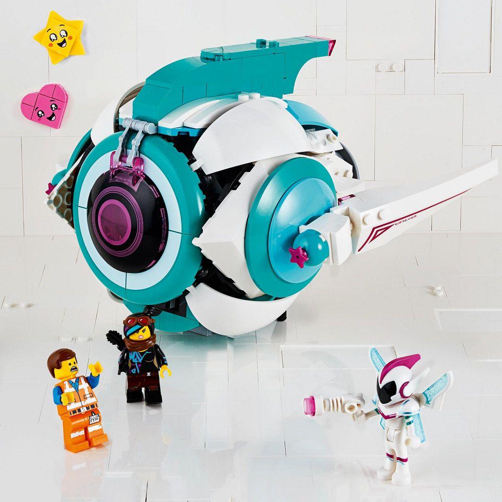 The Lego Movie 2 The Second Part Sweet Mayhem S Systar Starship 70830