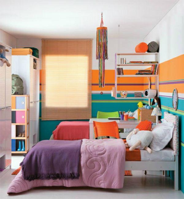 30 Ideen für Kinderzimmergestaltung Schlafzimmer design