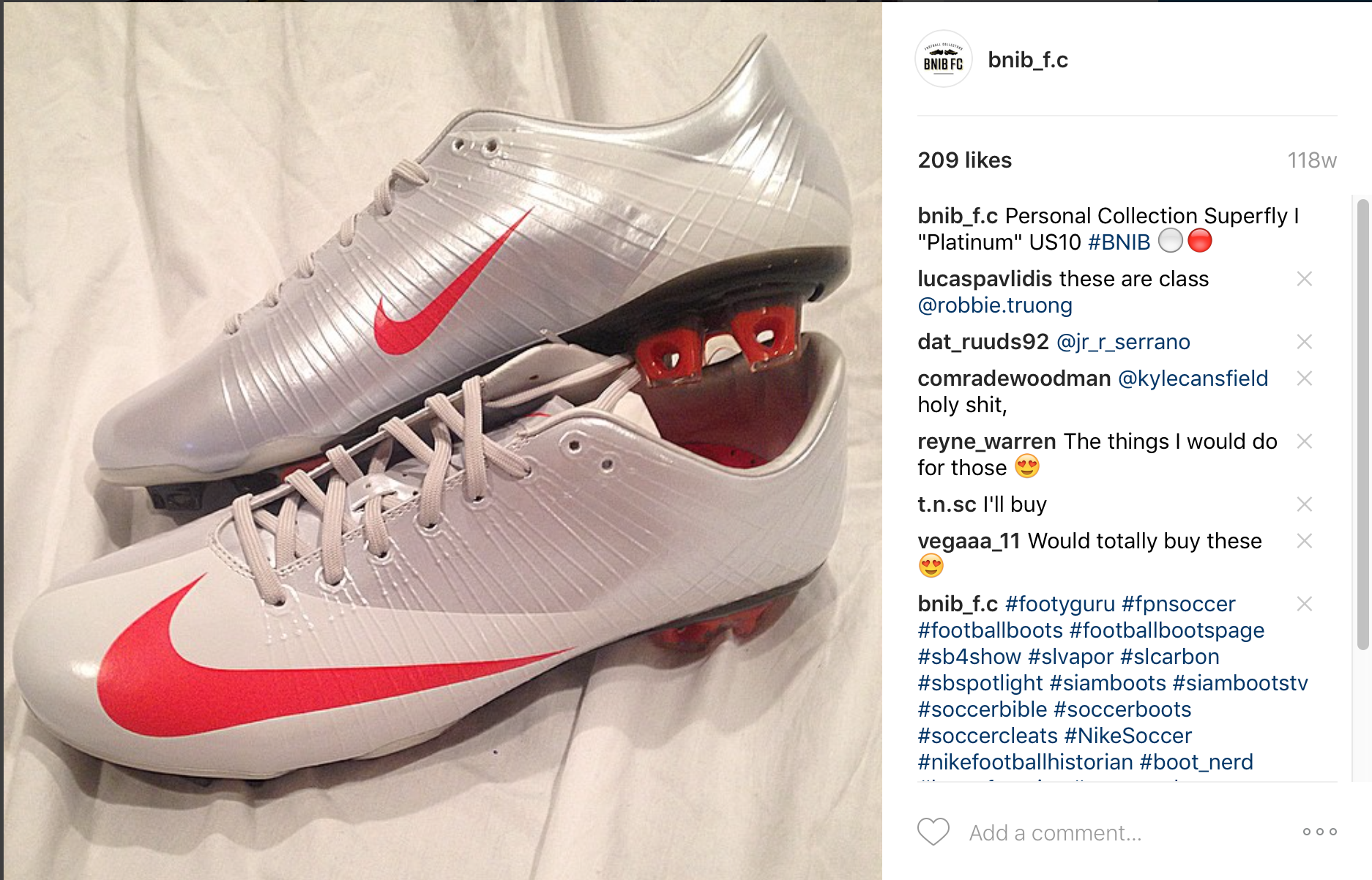 Nike Mercurial Superfly II Football Boots SoccerBible
