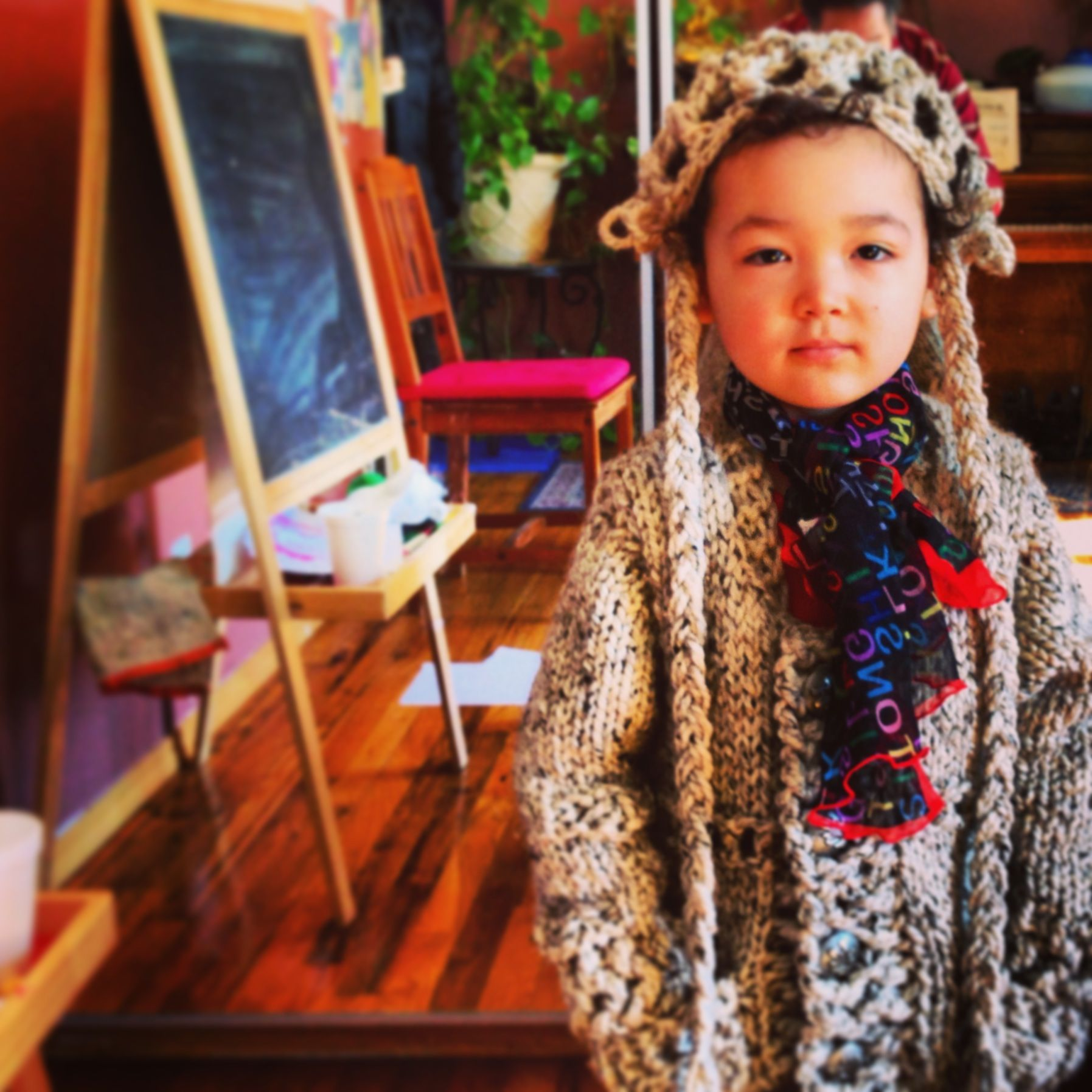 Sunshine, Chinese/Irish/Haitian. Cute mixed Asian baby!