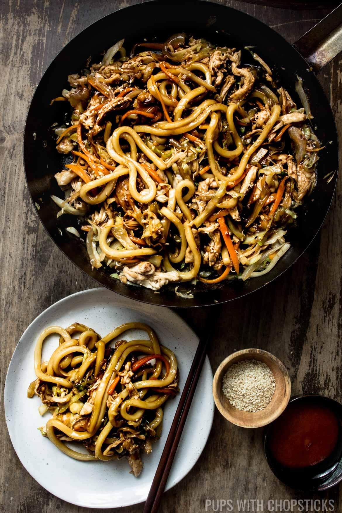 Photo of Stir Fry Chicken Teriyaki Noodles