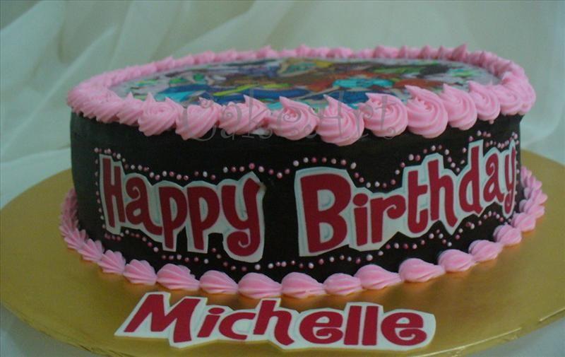 Moist Chocolate Cake for Michelle Happy birthday
