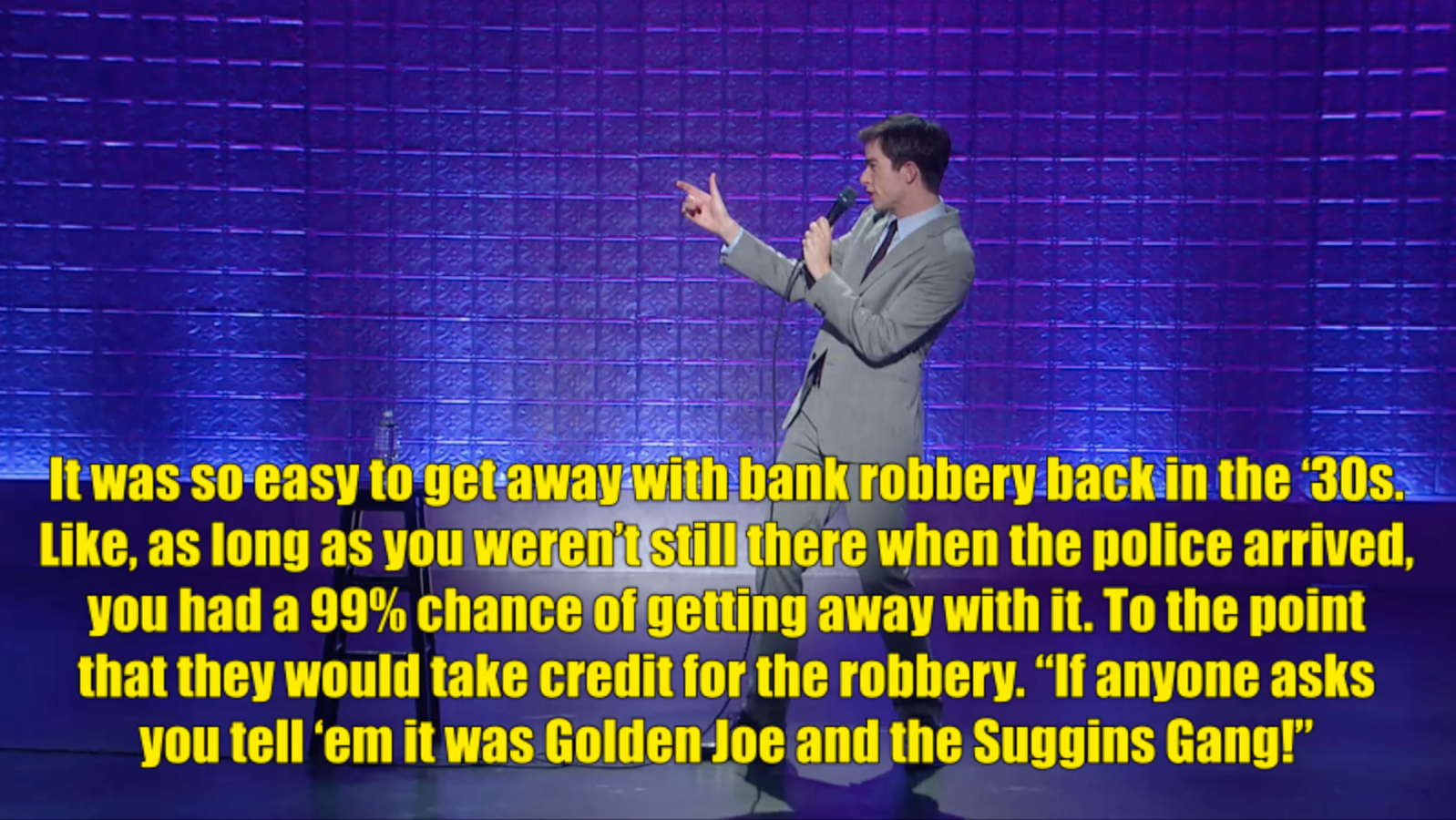Quot You Could Pour Soup On My Lap And I X27 Ll Probably Apologize To You Quot John Mulaney Jokes John Mulaney Stand Up