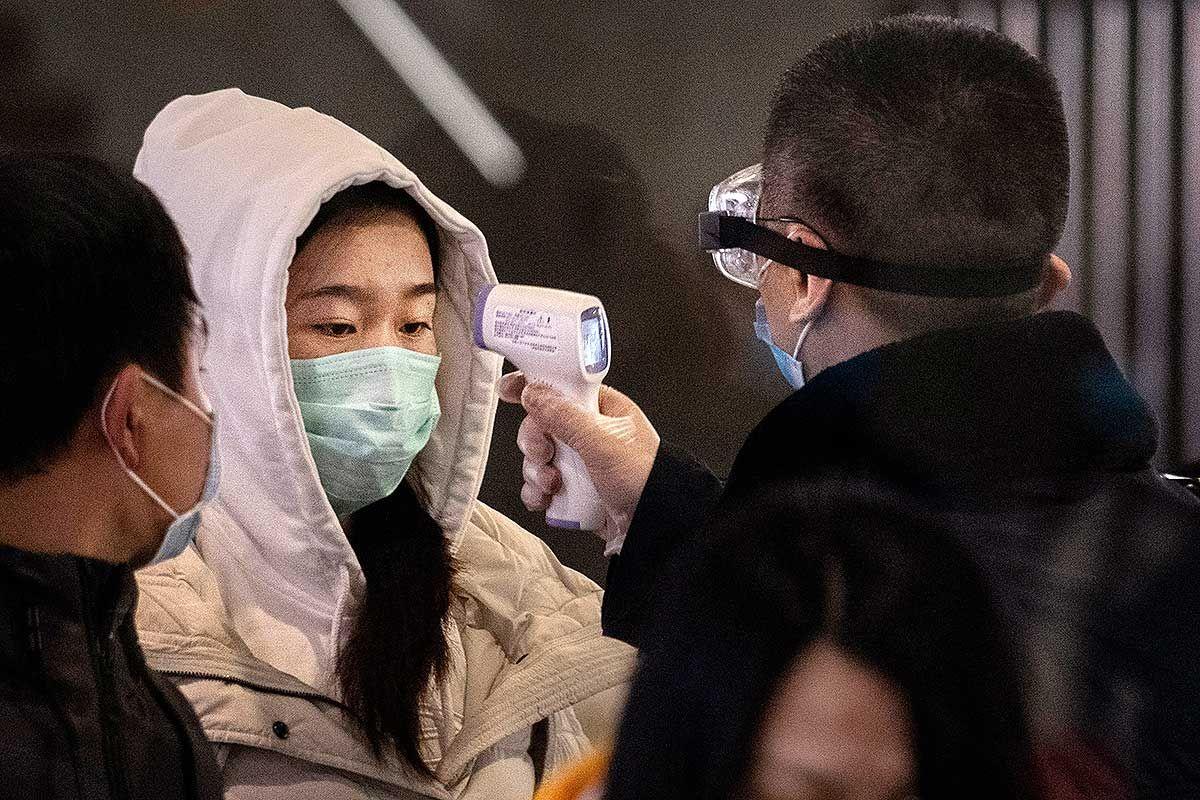 Распространение коронавируса заставило власти Китая