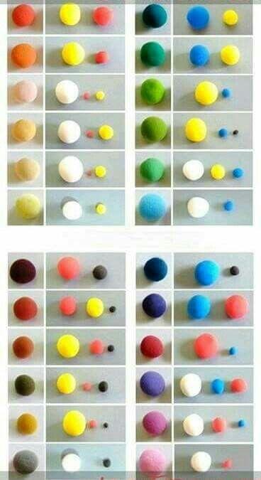 Pin von Reshmi Manoj auf Fondant Tutorial | Pinterest | Farben ...