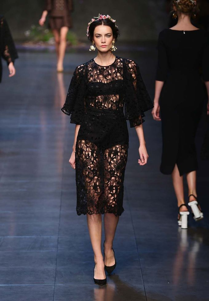 Milán Fashion Week SS 2014: Desfile de Dolce & Gabbana - Harper's Bazaar