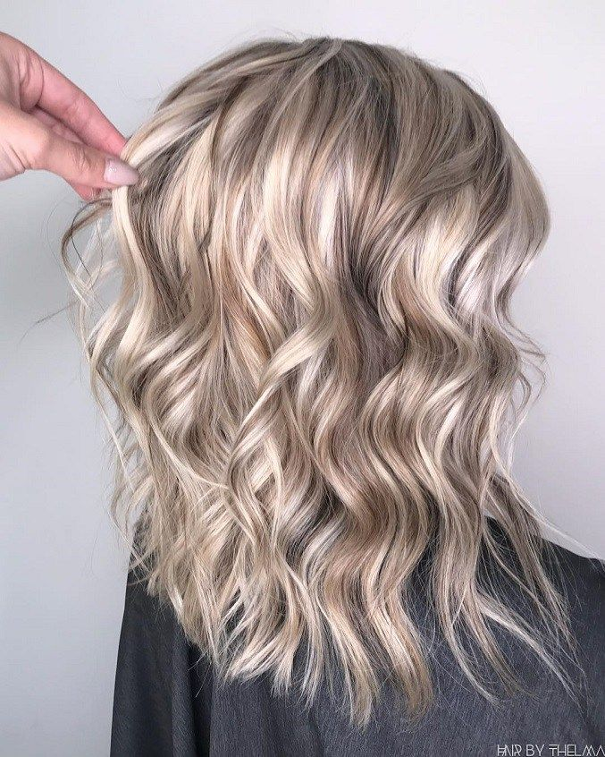 White Chocolate Blonde Hair Color Sandy Pearly Blonde