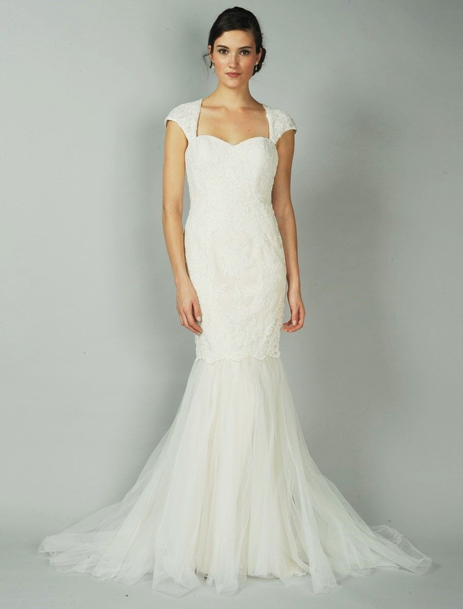 Anne Barge Cameo Wedding Dress Blue Willow Bride Discounted