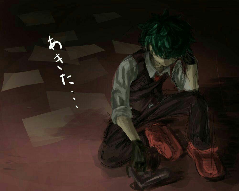 My Hero Academia // BNHA // Villain Izuku Midoriya // Deku