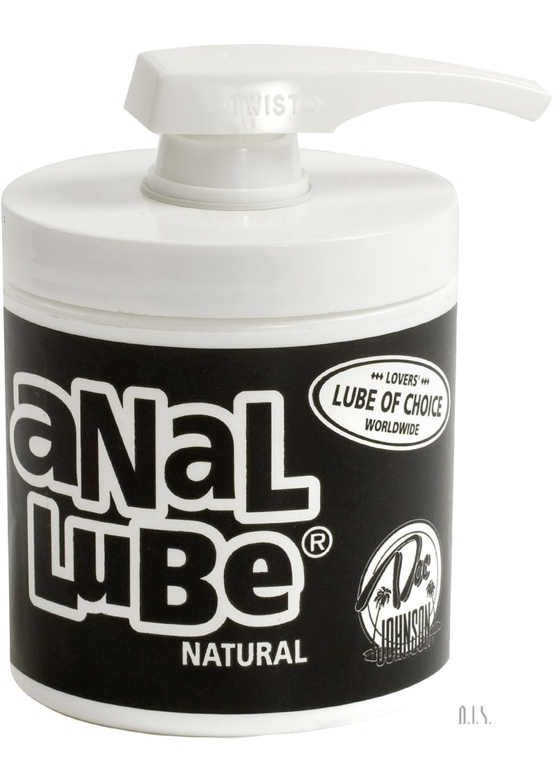 Anal lube recipe