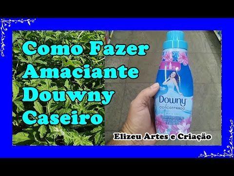 Amaciante Downy Caseiro Youtube Amaciante De Roupas Amaciante