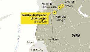 Assad's Cold Calculation: The Poison Gas War on the Syrian People