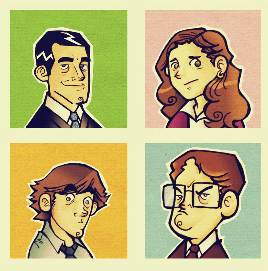 The office illustration by cool slayer on deviantart - Michael scott wallpaper ...