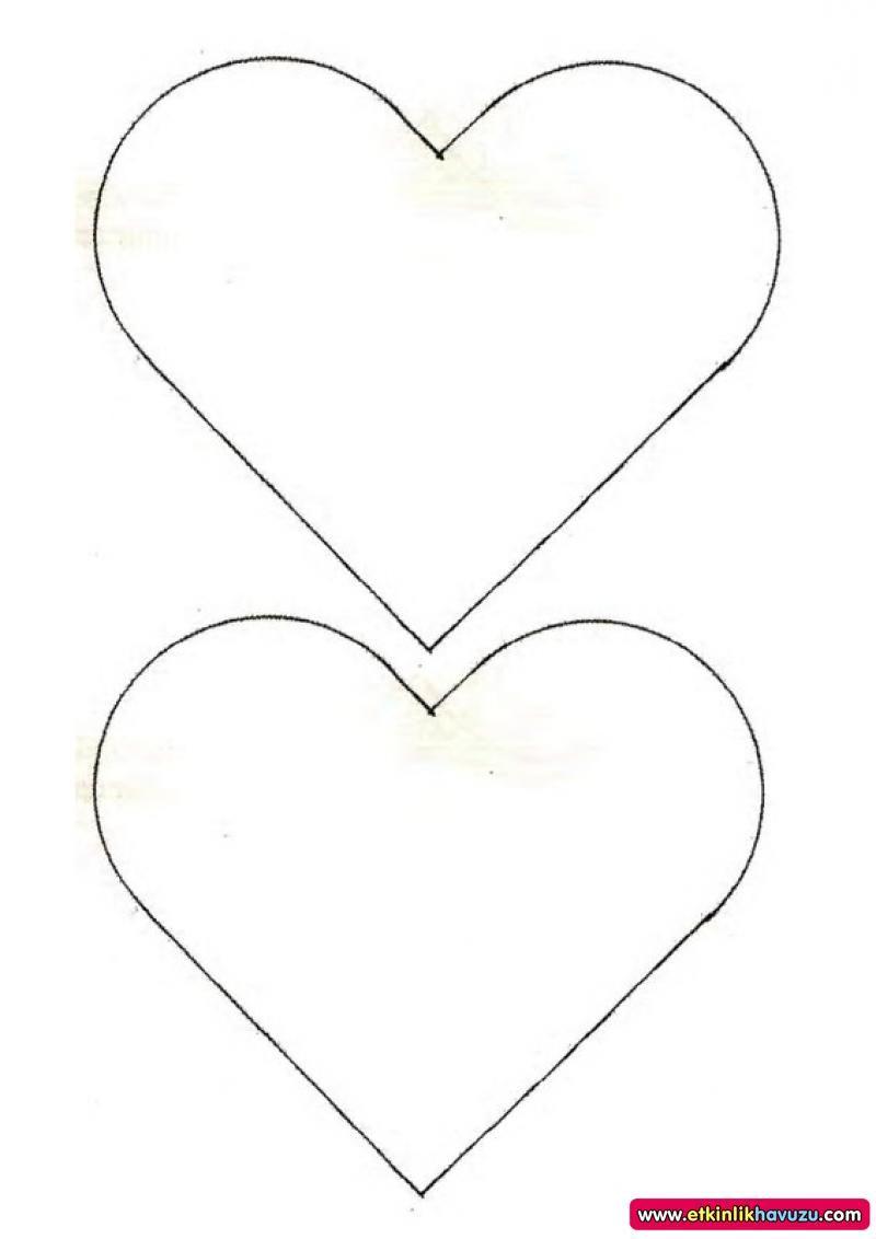 Kalp Cizimleri Boyama 7 Cizim Boyama Sayfalari