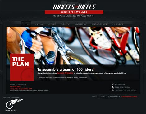 Web Design: Wheels For Wells
