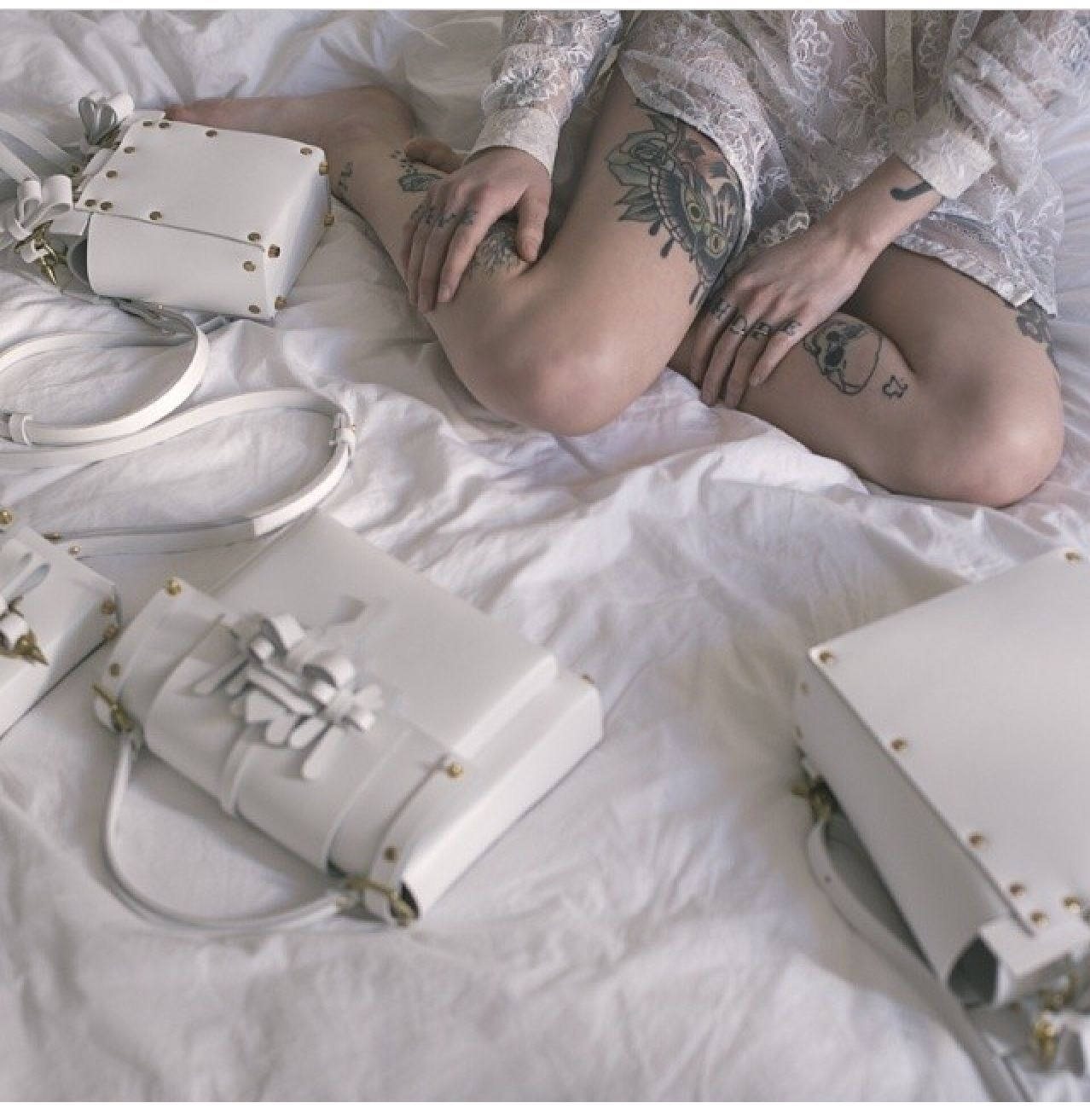 Want the white bag