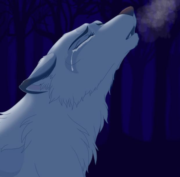 sad wolf howling my soul. hope u like it! | MY wolf ...