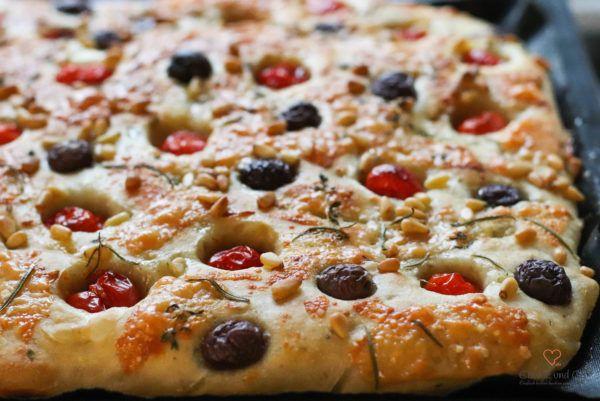Focaccia mit Lievito Madre | Cookie und Co