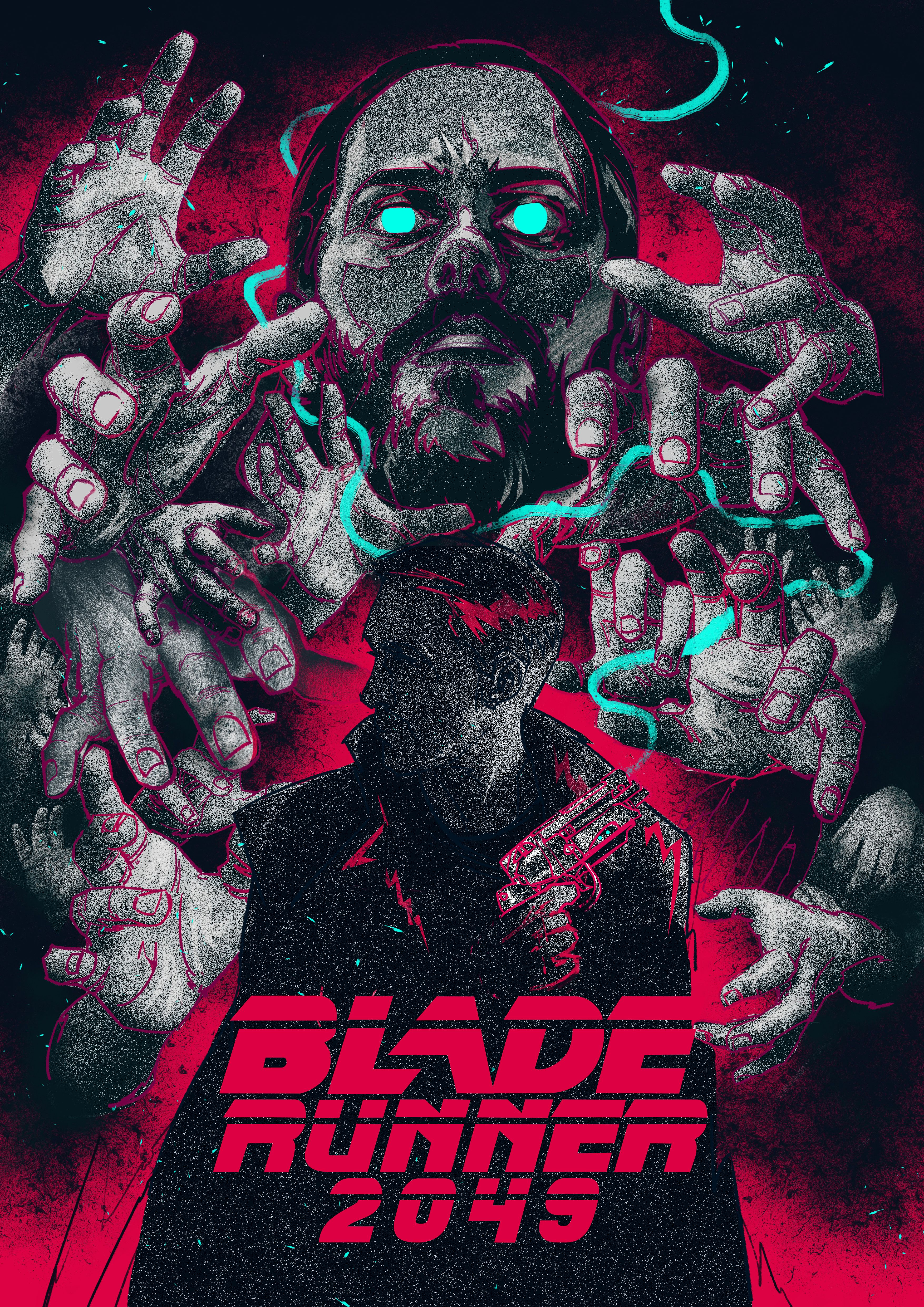 Blade Runner 2049 Bigtoe142 Hotmail Com Blade Runner Art Blade Runner Movie Posters Design