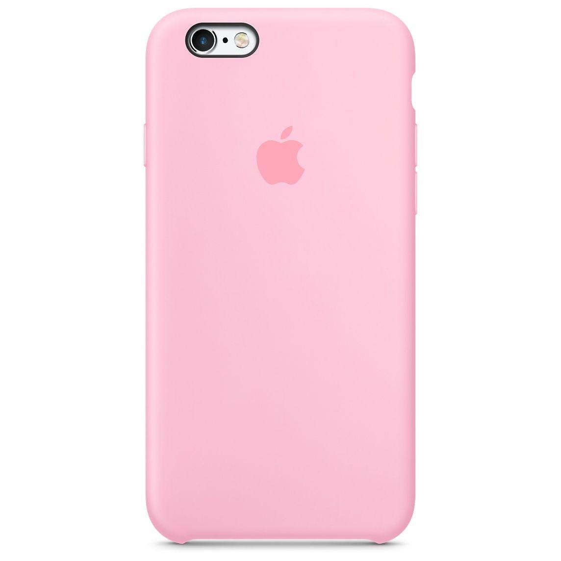 Coque en silicone iPhone 6s - Rose pâle | Étui de téléphone rose ...