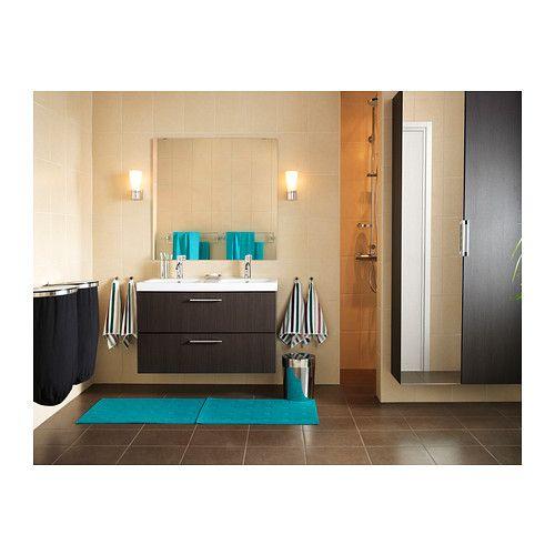 godmorgon odensvik meuble lavabo 4tir brun noir ikea. Black Bedroom Furniture Sets. Home Design Ideas