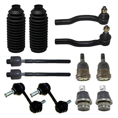Detroit Axle - New Complete 12pc Front Suspension Kit Nissan