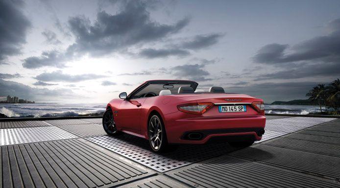 #Maserati #GranCabrio Sport (For my daughter.... Felice)