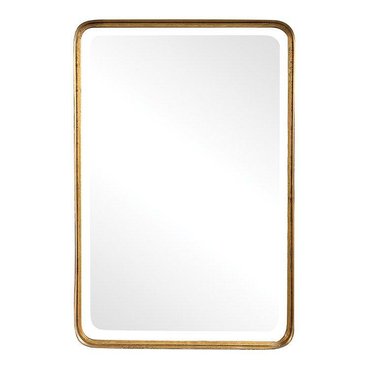 Uttermost 13936 Crofton Antique Gold Mirror In 2020