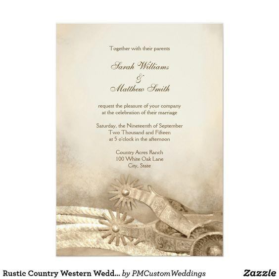 Rustic country western wedding invitations wedding wedding dress rustic country western wedding invitations filmwisefo