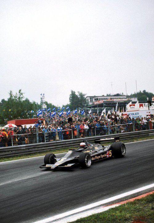 Mario Andretti LotusFord 79 1978 French GP Le
